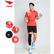 Bộ quần áo cầu lông cao cấp thương hiệu HIWING W1 màu đỏ thumbnail