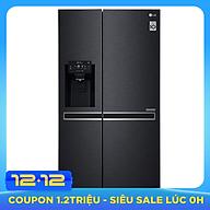 Tủ lạnh Side By Side Inverter LG GR-D247MC (601L) - Hàng chính hãng - Chỉ giao tại HCM thumbnail