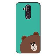 Ốp lưng dành cho điện thoại Nokia 8.1 Gấu Xám thumbnail