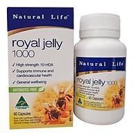 Thực phẩm chức năng Sữa Ong Chúa Natural Life Royal Jelly - Hộp 60 Viên thumbnail