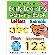 Wipe Clean Early Learning Activity Book thumbnail