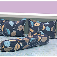 Bộ drap mền chần 2 mặt cao cấp 5 món 1m6 1m8 thumbnail