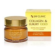 Kem dưỡng trắng da, ngăn ngừa lão hoá từ collagen và vàng 24K 3W Clinic Collagen & Luxury Gold Cream 100ml thumbnail