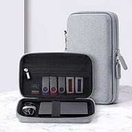 Túi phụ kiện điện thoại, túi công nghệ khung cứng chống sốc chuyên dụng đựng ổ cứng, pin sạc dự phòng, bộ sạc tai nghe có quai xách thumbnail