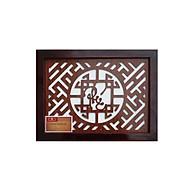 Tấm chống ám khói hương bàn thờ Tháng Tháng Thuận mẫu chữ phúc việt nét nhỏ - TL281 thumbnail