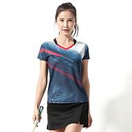 Áo thể thao cầu lông Nữ Sunbatta Y-W2006 chất liệu 100% Polyester, nhẹ nhàng, khô thoáng, nhanh khô, không lưu lại mùi và vệt mồ hôi trên áo thumbnail