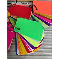 500 thẻ flashcard dạ quang mix 8 màu cao cấp dày 180gsm nhập khẩu thumbnail