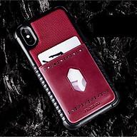 Ốp lưng cho iPhone Xs Max hiệu NUOKU Leopard Card - Hàng nhập khẩu thumbnail