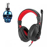 Tai nghe chụp tai CT-800 kèm mic đàm thoại dành cho Game thủ chống nhiễu, chống ồn tốt + Tặng hộp quẹt bật lửa bay mặt ma cao cấp (màu ngẫu nhiên) thumbnail