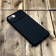 Ốp lưng kéo nắp camera cao cấp màu đen dành cho iPhone 7 Plus 8 Plus thumbnail