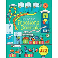 Usborne Lift the flap Fractions and Decimals thumbnail