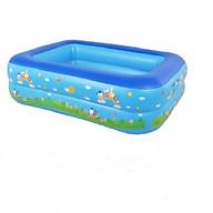 Bể bơi cao cấp cho bé 1m2 giao màu ngẫu nhiên thumbnail
