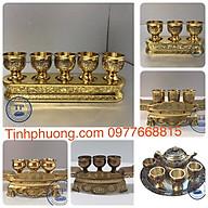 Bộ Cúng Nước Thờ Bằng Đồng ( NHIỀU MẪU) KH18108 thumbnail