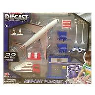 Đồ Chơi Mô Hình Sân Bay Diecast 70363 (22 Chi Tiết) thumbnail