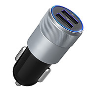 Củ Sạc Ô Tô, Xe Hơi 2 Cổng USB - CAR CHARGER thumbnail