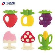 Gặm Nướu Silicon Richell Có Hộp Với Nhiều Hình Trái Cây Siêu Cute Cho Bé( Giao Ngẫu Nhiên Mẫu)- Tặng kèm 2 túi trữ sữa Unimom 210ml thumbnail