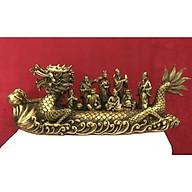 Thuyền rồng trang trí để bàn - Decor đồng cao cấp thumbnail