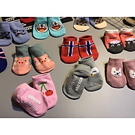 Tất Hàn cổ ngắn cho bé từ 3 tháng đến 2 tuổi(1 đôi) thumbnail