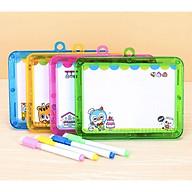 Bảng từ hai mặt cho bé kèm bút - 1 chiếc - giao màu ngẫu nhiên thumbnail