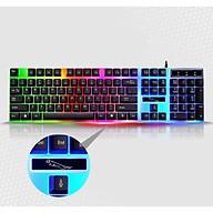 Bàn phím G21 LED giả cơ có led đổi màu thumbnail