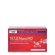 Thực phẩm bảo vệ sức khỏe SELENgold HD - HDPHARMA - Hỗ trợ chống oxy hóa, hạn chế quá trình lão hóa, hỗ trợ làm đẹp da thumbnail