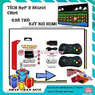 Bộ máy chơi game 638 kết nối hdmi không dây - tặng móc khóa game thumbnail