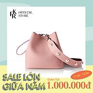 Túi đeo chéo Find Kapoor Pingo Bag 20 Basic Pearl FBPB20PNX98S06 - màu hồng thumbnail