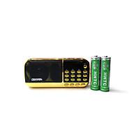 Loa đài FM đa năng Craven CR-836BT hỗ trợ Bluetooth Thẻ nhớ USB Tai nghe Đèn pin - dung lượng pin 4400mah (Đen đỏ) HÀNG NHẬP KHẨU thumbnail