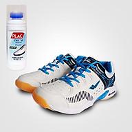 Giày cầu lông XPD chính hãng ma 855 ma u tră ng xanh - Tặng bình làm sạch giày cao cấp thumbnail