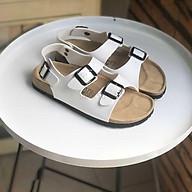 Bộ sưu tập giầy Sandal nữ đi học - văn phòng màu trắng TINH KHÔI - Dép Văn Phòng . thumbnail