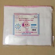 Khăn tắm xô 6 lớp Trắng loại đẹp size 75 75cm thumbnail