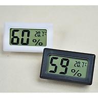 Thiết bị đo nhiệt độ, độ ẩm mini (Màu ngẫu nhiên) - Tặng kèm đèn pin bóp tay thumbnail