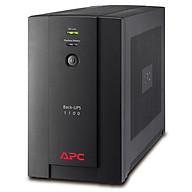 Bộ lưu điện APC Back-UPS 1100VA, 230V, AVR, Universal and IEC Sockets - BX1100LI-MS - Hàng Chính Hãng thumbnail
