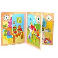 Sách gỗ 6 trang thumbnail