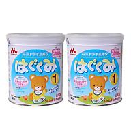 Hai hộp sữa Morinaga số 1 dinh dưỡng dành cho bé 320g thumbnail