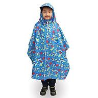 Áo mưa trẻ em bít 2 bên size 11 (họa tiết ngẫu nhiên) thumbnail