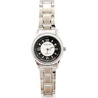 Đồng Hồ Nữ Halei HLL489 Dây trắng (Tặng pin Nhật sẵn trong đồng hồ + Móc Khóa gỗ Đồng hồ 888 y hình + Hộp Chính Hãng+ Thẻ Bảo Hành) thumbnail