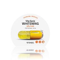 Mặt nạ giấy dưỡng da trắng sáng và làm đều màu da Banobagi Vita Genic Whitening Jelly Mask (Vitamin C) 30ml thumbnail