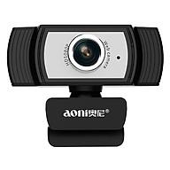 Webcam Máy Tính Aoni C33 - Livestream Siêu Nét, Học Online, Lấy Nét Chủ Động, Góc 80 - Hàng Chính Hãng thumbnail