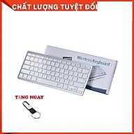 Bàn Phím Bluetooth Không Dây X5, Kiểu Dáng MAC, Thiết Kế Sang Trọng, Nhỏ Gọn, Tiện Lợi thumbnail