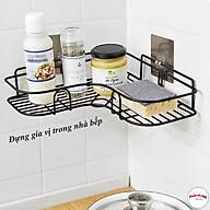 Kệ Góc Sắt Dán Tường Siêu Chắc - kệ đựng đồ nhà tắm siêu dính 00804 thumbnail