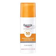 Kem chống nắng giúp ngăn ngừa lão hóa da Eucerin Sun Fluid Photoaging Control SPF 50 thumbnail
