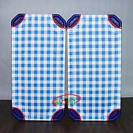 Giường lưới cho bé mầm non caro xanh S011VIB thumbnail