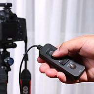 RM-VS1 Remote Control Shutter điều khiển quay phim cho Sony a5100, a6400, a6600, a7iii, a7ii ... thumbnail