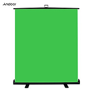 Andoer Portable Stretchable Chromakey Background 1.5 2m Pull-up Style Wrinkle-resistant Green Screen Backdrop with thumbnail