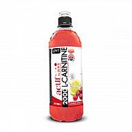 ACTIF L-CARNITINE 2000 MG DRINK CRANBERRY-LEMON ZERO CALORIE 12 X 700 ML thumbnail