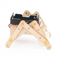 Bộ Đồ Chơi Lắp Ghép Xếp Hình Robot J-16. Đồ Chơi Thí Nghiệm Bằng Gỗ Cho Bé + Tặng Kèm 1 Tranh Ghép Bằng Gỗ thumbnail