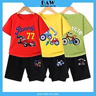 Set Đồ Bé Trai phong cách hàn quốc, chất thun cotton mát mịn thấm hút mồ hôi, thời trang trẻ em thương hiệu BAW mã 137-138-139 thumbnail
