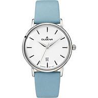 Đồng hồ Dugena nữ Festa Femme 4460787 dây xanh dương nhạt thumbnail