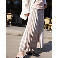 Chân váy xếp ly dáng dài xinh xắn Z. thumbnail